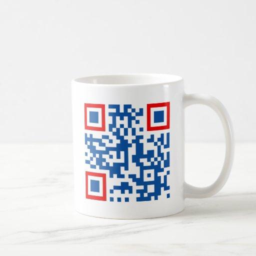 QR-Code-Commonwealth-of-Aus Classic White Coffee Mug