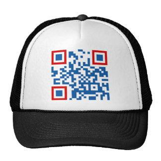 QR-Code-Costa-Rica Mesh Hat