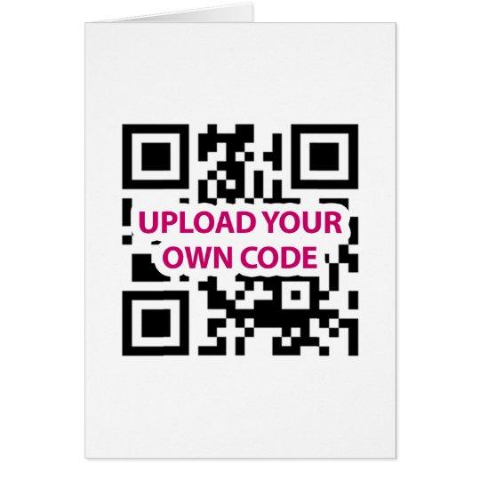 QR Code Customizable Card