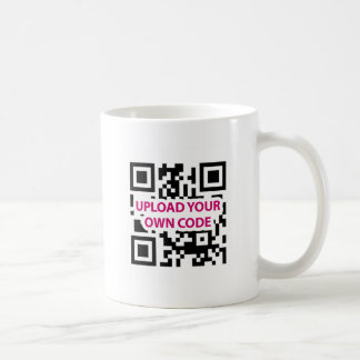 QR Code Customizable Coffee Mug