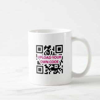 QR Code Customizable Classic White Coffee Mug