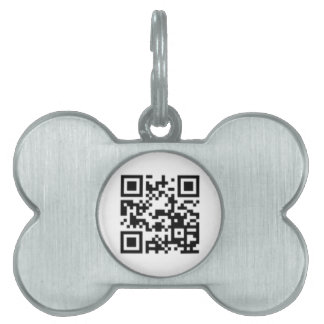 QR Code Customizable Pet ID Tag