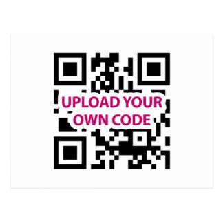 QR Code Customizable Postcards