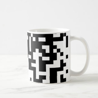 QR code design Coffee Mug