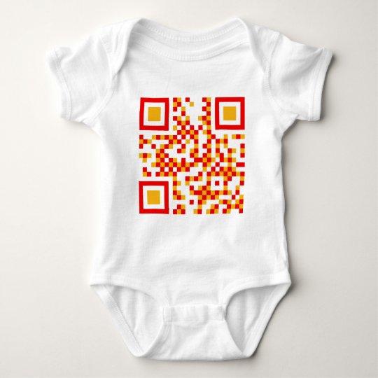 QR-Code-España Baby Bodysuit