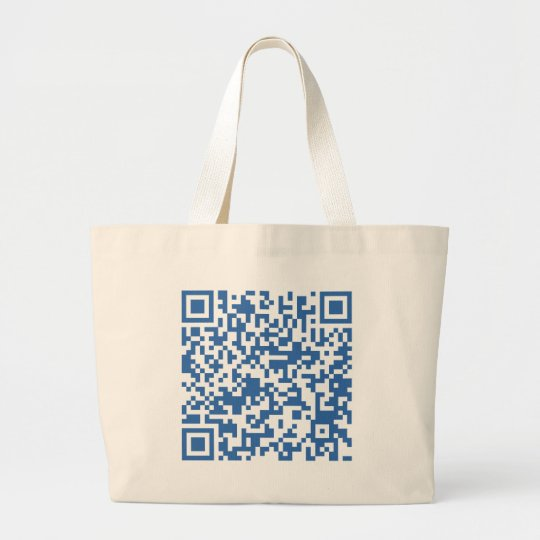 QR-Code-Greece Large Tote Bag