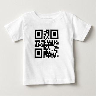 "QR code ""I LOVE YOU"" Baby T-Shirt"
