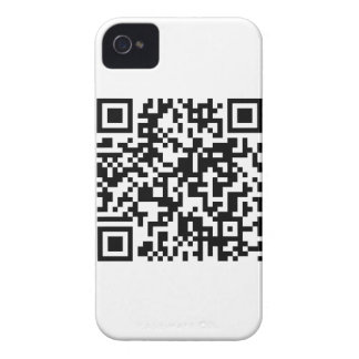 QR Code iPhone 4 Case-Mate Case