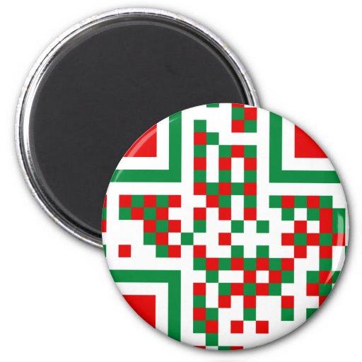 qr-code.italia 2 inch round magnet