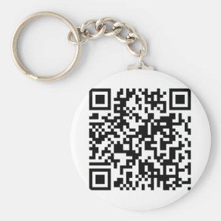 QR Code Keychain