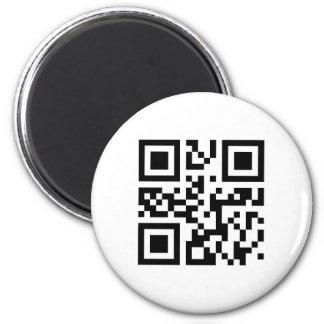 QR Code Magnet Template