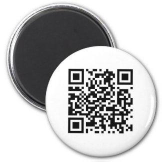 QR code Make the world a better place with your .. Magnet