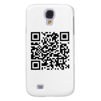 QR code Make the world a better place with your .. Samsung S4 Case