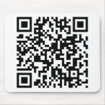 QR Code Mouse Pad