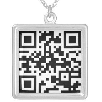 QR Code Necklace