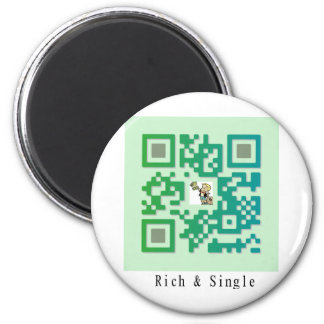 Qr Code Rich & Single Magnet