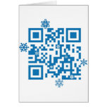 "QR Code Scans ""Merry Christmas!"" Cards"
