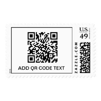 QR CODE STORE TEMPLATE U.S. POSTAGE STAMPS