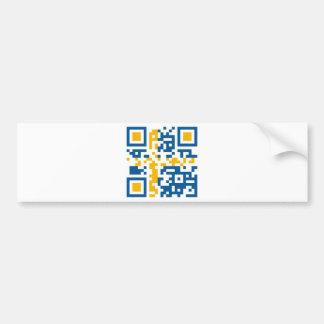 QR-Code-Sverige Bumper Sticker