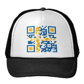 QR-Code-Sverige Trucker Hats