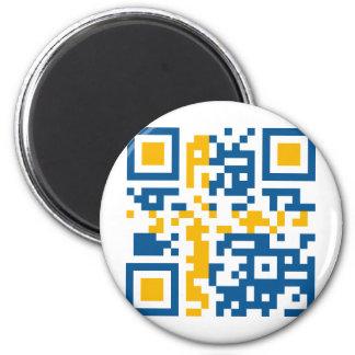 QR-Code-Sverige Magnet