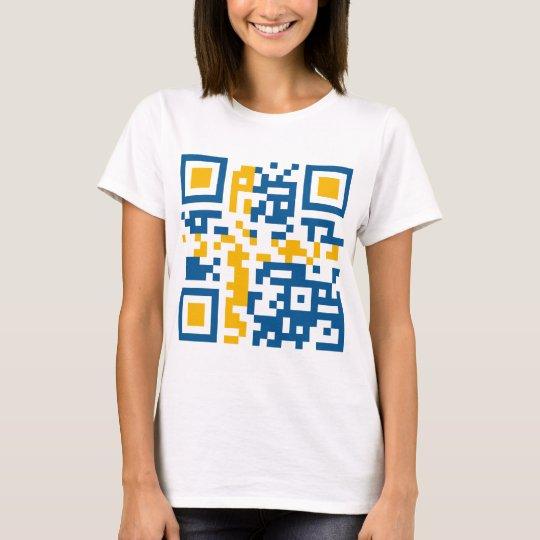 QR-Code-Sverige T-Shirt