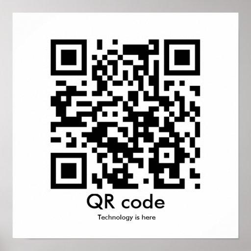 QR code, Technology is...