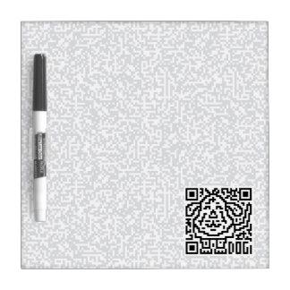 QR Code the Dog Dry Erase Board