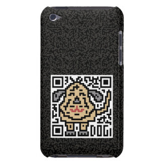 QR Code the Dog iPod Touch Case
