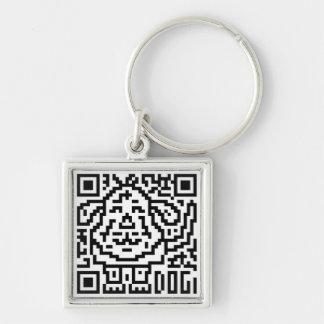 QR Code the Dog Keychains