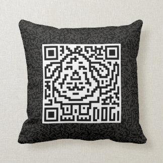 QR Code the Dog Pillow