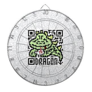 QR Code the Dragon Dartboard With Darts