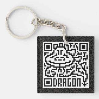 QR Code the Dragon Keychain