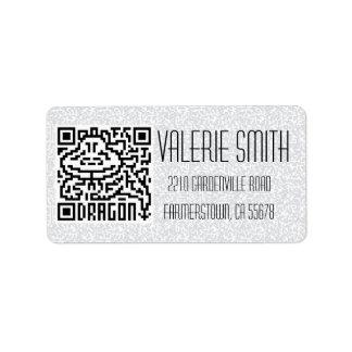 QR Code the Dragon Label
