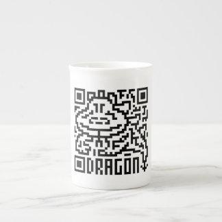 QR Code the Dragon Porcelain Mugs