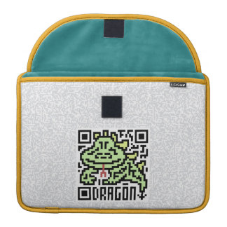 QR Code the Dragon Sleeve For MacBooks