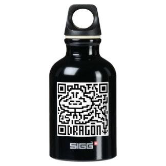 QR Code the Dragon Water Bottle