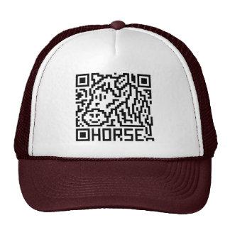 QR Code the Horse Mesh Hat