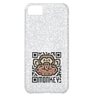 QR Code the Monkey iPhone 5C Case
