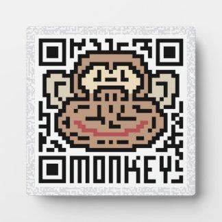 QR Code the Monkey Plaque
