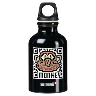 QR Code the Monkey Water Bottle