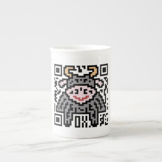QR Code the Ox Bone China Mug