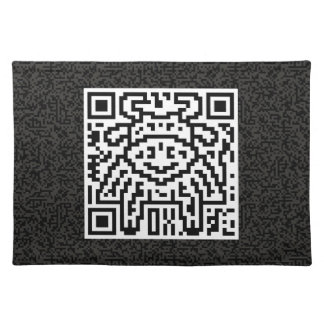 QR Code the Ox Placemat