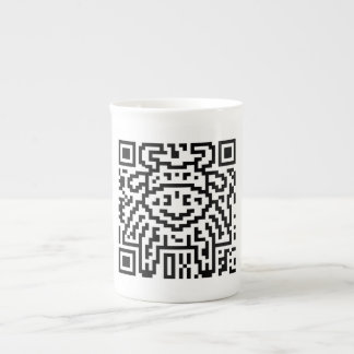 QR Code the Ox Porcelain Mug