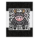 QR Code the Ox Post Card