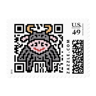 QR Code the Ox Postage