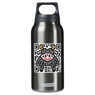 QR Code the Ox Thermos Bottle