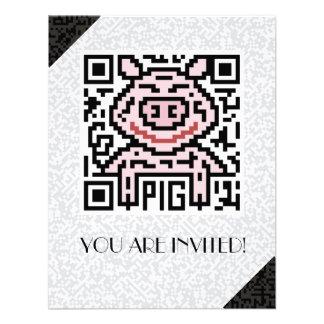 QR Code the Pig Announcements