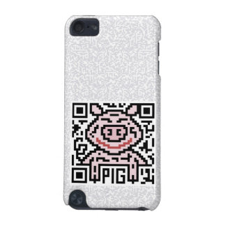 QR Code the Pig iPod Touch (5th Generation) Cover