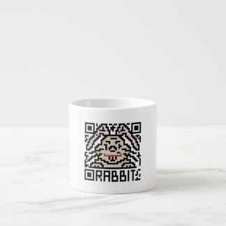 QR Code the Rabbit Espresso Cup